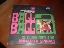 """ANNARITA SPINACI """"SE TU NON CREDI A ME"""" DISCO ESTATE'67"""