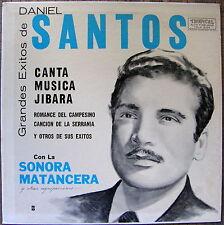 Daniel Santos Sonora Matancera Grandes Exitos Musica Jibara Puerto Rico Mint-