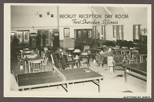 RPPC RECRUIT RECEPTION ROOM FT SHERIDAN, IL COCA COLA MACHINE