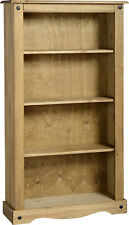 CORONA MEXICAN PINE SHELVES, BOOKCASE, BOOKSHELF *FREE NEXT DAY DELIVERY