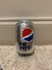 Lucy Sparrow Diet Pepsi Cola Coke Can Sparrow Mart Pop Art Basel Signed