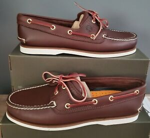 NEW AUTHENTIC TIMBERLAND CLASSIC BOAT SHOE  MEN'S US 8.5