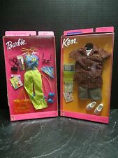 Barbie & Ken~ 2 sets of Fashion Avenue~Dot Com & New Orleans Fashion 2001