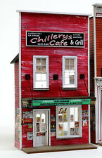 O SCALE On3/On30/On2 BANTA MODEL WORKS #6150 Chillery's Cafe FRONT ONLY.....