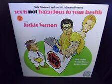 Sex Is Not Hazardous To Your Health LP Tom Bosley Jackie Vernon VG+