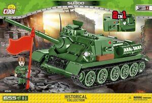 COBI  SU- 100 / 2541 / 655 blocks  WWII  WoT  Soviet tank self-propelled gun