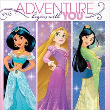Disney Princess Dream Big  Beverage Napkins [16ct] Birthday Party Supplies