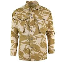 Original British army military combat Desert field jacket shirt lightweight