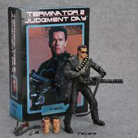 NECA Terminator 2: Judgment Day T-800 Arnold Schwarzenegger PVC Figure