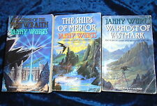 *3 WARS OF LIGHT AND SHADOWS TRILOGY BOOKS by JANNY WURTS * UK POST £3.25* PB*