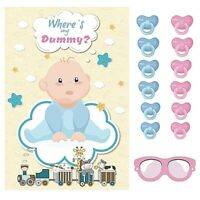 Pin The Dummy On The Toddler Baby Shower Party Game Unisex Board Games For Kids