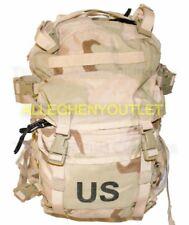 USGI MOLLE II Assault Pack w/ Stiffener & Foam Insert 3-Color Desert VERY GOOD