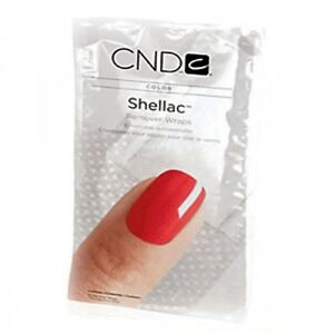 250 Pack CND Shellac Remover Wraps Creative Nail UV Gel Polish