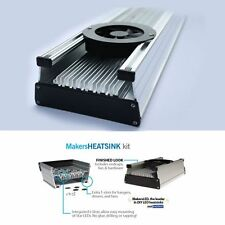 6 in MakersLED DIY aluminum heatsink kit :t Slot mounting Makers LED heat sink