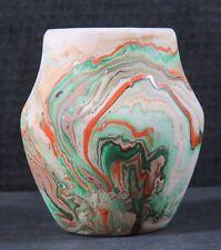 """Vintage Nemadji Pottery Native Clay USA 5"""""""