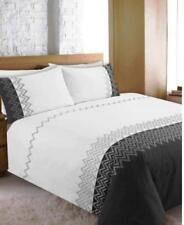Linge de lit et ensembles gris en polycoton pour chambre à coucher