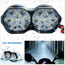 30W 6500K Motorcycle ATV 18LED Headlight Spotlight Fog Spot Lamp DRL Waterproof