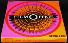 *** FILM SUPER 8 COULEUR MUET 60 METRES - WESTERN / NUIT SAUVAGE ***