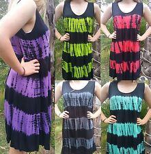 WOMENS BALI SUMMER BEACH SUN DRESS DAY CASUAL STRETCH SIZE L XL XXL 14 16 18