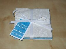"(42) 5"" Fabric Squares - Fairy Frost Boy Thing Blue Cream Gray - Michael Miller"