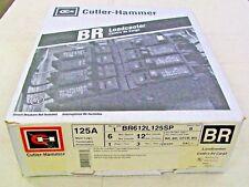 Cutler Hammer BR612L125SP 125 Amp 120/240 V 1 Phase 3 Wire Main Lug Loadcenter