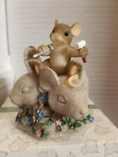 Charming Tails Mouse Rushmore 82/115 Fitz and Floyd New Original Box Lim Ed 6800
