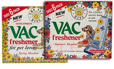 2 X VAC Air Freshner 6 Pack Spring + Estate Aspirapolvere Pet Amante Hoover Disc