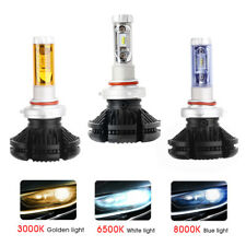X3 Series 9005 HB3 H10 LED 50W 6000lm Cree Bulb LED Headlight 3000k 6500k 8000k