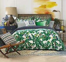 Tommy Hilfiger Santa Barbara Villa Gardens Green 2-Piece Twin Duvet Cover Set