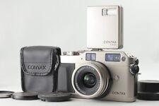 [MINT] Contax G1 Film Camera w/Carl Zeiss Biogon 28mm F2.8  T* Lens TLA140 Flash