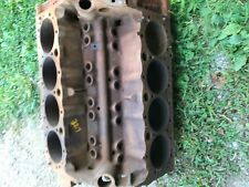 1963 chevy 327 engine flint block 3782870 march 1963 .040 stamped F0327S pitted