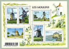 Feuillet F4485 - Les Moulins - 2010