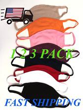 Unisex Face Mask Reusable Washable Cover Color Masks Fashion Cloth Men Women USA