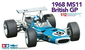 Tamiya 12005 / Ebbro 13001 - 1/12 Matra MS11 - 1968 Gp de Grande Bretagne - Neuf