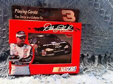 NOS 2001 BICYCLE DALE EARNHARDT #3 PLAYING CARDS DECKS