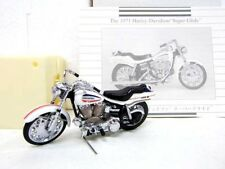 "Franklin Mint 1/24 The 1971 Harley-Davidson ""Super Glide"" Vintage Toy Vehicle"