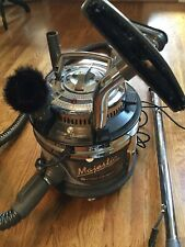 Filter Queen Majestic 95X Canister Vacuum Cleaner with Attachments Black *Tested