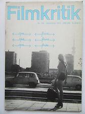 Critique NR 189, septembre 1972,