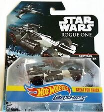 NEW 2017 HOT WHEELS CARSHIPS STAR WARS PARTISAN X-WING FIGHTER FREE SHIPPING