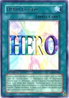 3x HERO Flash!! - EOJ-EN042 - Rare - 1st Edition EOJ - Enemy of Justice YuGiOh N