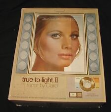 CLAIROL LM2 TRUE TO LIGHT II MAKE UP VANITY 2 Sided MIRROR MAGNIFIED IN BOX