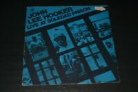 John Lee Hooker~Live At Soledad Prison~With Printed Inner Sleeve~Chicago Blues