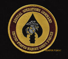 SPECIAL OPERATIONS COMMAND US MARINES PATCH MCAS SOCOM PN UP Camp Lejeune VET