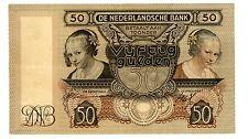 Netherlands ... P-58 ... 50 Gulden ... 1941 ... *VF+*