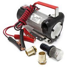 Wiltec Bio Dieselpumpe Heizölpumpe Selbstansaugend 12 V 160 W 40 L Min 2 Fittinge
