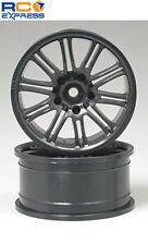 HPI Racing 10-Spoke Sport Wheels 26mm Black (2) HPI3771