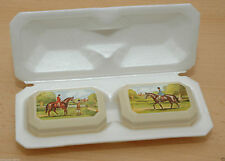 AVON Country Scene Decal Soap Set 2x75g Seife in Box OVP Sammler Rarität D0823