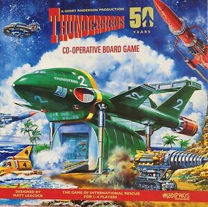 Thunderbirds Co-operative board game (2015) by Matt Leacock. Kickstarter edition