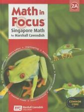 Math in Focus: Singapore Math: Student Edition Grade 2 Book A 2013 GREAT SOURCE