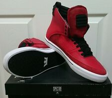 Supra Spectre Kondor by Lil Wayne - Athletic Red/Black-White - Size 12